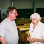 Zenepedagógiai konferencia – Mohayné Katanics Mária és Tamási László  (foto: Horváth Géza)