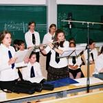 Bemutató tanítás – Bemutató tanítás – aKós Károly Ének-zene Emeltszintű Általános Iskola tanulói (foto: Horváth Géza)