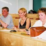 Zenepedagógiai konferencia – Balról: Tamási László, Tamási Dsupin Borbála,  (foto: Horváth Géza)