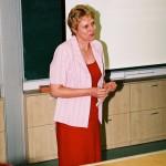 Zenepedagógiai konferencia – Józsa Mónika, a konferencia egyik szervezője (foto: Horváth Géza)