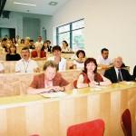 Kodály konferencia – Első sor balról: Szíjjártó Jenőné, Orsovich Yvette,  (foto: )