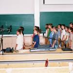 Zenepedagógiai konferencia – Orsovics Yvett és a Nagymegyeri Alapiskola 5.osztálya (foto: Horváth Géza)