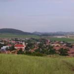 – Nyitradarázsi, a háttérben Nyitra (foto: Balkó Gabriella)