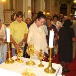 Szent László tisztelőinek találkozója – Nyitra – 2008. júl. 25. – Magyar szentek ereklyéi (foto: Balkó Gábor)