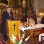 Szent László tisztelőinek találkozója – Nyitra – 2008. júl. 25. – Dr. Tóthpál Tamás prior – Szent György Lovagrend (foto: Balkó Gábor)