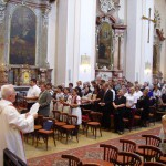 Szent László tisztelőinek találkozója – Nyitra – 2008. júl. 25. – Üdvözlégy kegyes Szent László király (foto: Balkó Gábor)