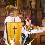 Szent László tisztelőinek találkozója – Nyitra – 2008. júl. 25. – György Ferenc plébános – Ipolybalog előzőleg Nagycétény (foto: Balkó Gábor)