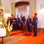 Szent László tisztelőinek találkozója – Nyitra – 2008. júl. 25. – Lovaggáütési ceremónia (foto: Balkó Gábor)