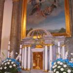 Feltámadási menet Zoboralján – 2008 – Az oltár és oltárkép (foto: Hörigh Szilvia)