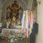 Feltámadási menet Zoboralján – 2008 – A főoltár (foto: Balkó Gábor)