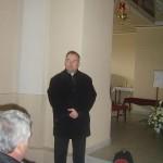 Feltámadási menet Zoboralján – 2008 – Sárai Attila, szímői plébános (foto: Balkó Gábor)