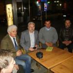 Tudományos konferencia – Balról: alul Pozsony Ferenc, Kucsera János, Göncz László, Balkó Gábor, Jenei Károly,  (foto: Maga Ferenc)