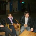 Tudományos konferencia – Balról: Márton Attila, Máté Krisztína, Csillag Levente – csángó tanítók (foto: Balkó Gábor)