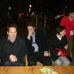 Tudományos konferencia – A szervezők: Adamov Dávid, Klotz Péter, Ádám Bíborka (foto: Balkó Gábor)
