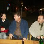 Tudományos konferencia – Városnézés után – Ádám Bíborka, Pozsony Ferenc, Kucsera János (foto: Balkó Gábor)
