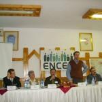 Tudományos konferencia – Balról: Sógor Csaba, Viola Lujza, Kucsera János, Zilizi Zoltán, Németh Attila (foto: Balkó Gábor)