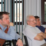 Tudományos konferencia – Zoboralja képviselete balról: Zilizi Zoltán, Balkó Gábor, Maga Ferenc (foto: ENCEF)