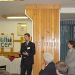 Tudományos konferencia – dr. Klotz Péter, a Híd-ENCEF alelnöke  (foto: ENCEF)