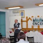 Tudományos konferencia – Prof . dr. Keszeg Vilmos, tanszékvezető – Babes-Bolyai Tudományegyetem Néprajz és Antropológia Tanszék, Kriza János Néprajzi Társaság (foto: ENCEF)