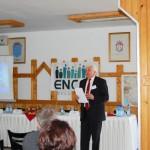 Tudományos konferencia – dr. Göncz László, a Szlovén Parlament képviselõje, a Szórvány Tanács elnöke, Muravidék (foto: ENCEF)