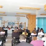 Tudományos konferencia – Csillag Levente előadása – Moldvai Csángómagyarok Szövetségének alelnöke  (foto: ENCEF)