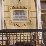 Tudományos konferencia – Bem József emléktáblája (foto: Balkó Gábor)