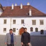 Tudományos konferencia – Mátyás király szülőháza – Balról Maga Ferenc és Zilizi Zoltán (foto: Balkó Gábor)