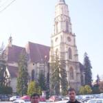 Tudományos konferencia – Szent Mihály templom – balról Maga Ferenc és Zilizi Zoltán (foto: Balkó Gábor)
