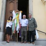 Feltámadási menet Zoboralján – Hörigh Szilvia, Balkó Gábor, Péntek Antal (foto: Maga Ferenc)