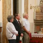 Feltámadási menet Zoboralján – Lesskó Éva és László, Balkó Gábor (foto: Maga Ferenc)