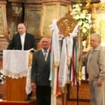 Feltámadási menet Zoboralján – Sárai Attila és a szímői egyházközösség (foto: Maga Ferenc)