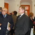 Forgách Múzeum megnyitója – Középen Milan Belica-Nyitra megye elnöke, balra félig takarva Miroslav Eliáš-muzeológus (foto: Balkó Gábor)