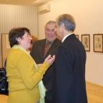 Szívvel és lélekkel – Simek Viktor kiállítása – dr. Simek Viktor (foto: Balkó Gábor)