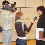 Szívvel és lélekkel – Simek Viktor kiállítása – Mgr. Adriana Récka, PhD  (foto: Balkó Gábor)