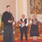 Énekkarok hangversenye – Tomáš Štribula helyi plébános (foto: Balkó Gábor)