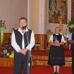 Énekkarok hangversenye – Mészáros Ferenc Nagycétény polgármestere (foto: Balkó Gábor)