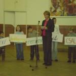 Magyar Nyelv Éve 2009 – Kanyicska Ilona – a Szlovákiai Magyar Szülők Szövetsége elnöke (foto: Veres Bernadett)