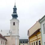 Szent László emlékmise 2010 – út a várba – Ferencesek temploma (foto: Balkó Gábor)
