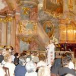 Szent László emlékmise 2010 – mise előtt Teodóz atyával(foto: Balkó Gábor)
