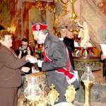 Szent László király Oklevél és Érdemkereszt – Balról: Budinszky Júlia, Pécsi L. Dániel, Maga Ferenc (foto: Balkó Gábor)
