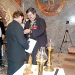 Szent László király Oklevél és Érdemkereszt – Jobbról: Tóthpál Tamás és Tóth Attila (foto: Balkó Gábor)