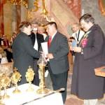 Szent László király Oklevél és Érdemkereszt – Balról: Tóth Attila, Maga Ferenc, Tóthpál Tamás (foto: Balkó Gábor)