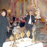 Szent László király Oklevél és Érdemkereszt – Balra Tóth Attila, jobbra Maga Ferenc (foto: Balkó Gábor)