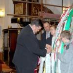 Feltámadási menet 2011 – Nyitra – Kolon szalagja – Balkó Róbert polgármester (foto: Maga Ferenc)