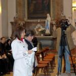 Feltámadási menet 2011 – Nyitra – Balról a kalászi Hörigh Szilvia és Jókai Mária Aháról (foto: Maga Ferenc)