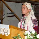 Feltámadási menet 2011 – Nyitra – Antal Krisztína énekel (foto: Maga Ferenc)