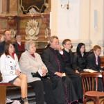 Feltámadási menet 2011 – Nyitra – Minden szem Márton Attilára szegeződik (foto: Maga Ferenc)
