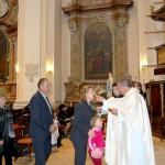 Feltámadási menet 2011 – Nyitra – szentmise – szentáldozás (foto: Maga Ferenc)