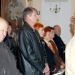 Feltámadási menet 2011 – Nyitra – szentmise – Középen Masaryk Gyula koloni iskolaigazgató (foto: Maga Ferenc)