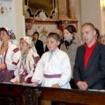 Feltámadási menet 2011 – Nyitra – szentmise – Modvai csángó vendégeink Lészpedről (foto: Maga Ferenc)